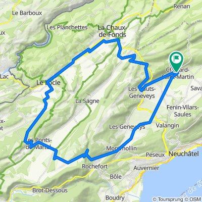 Visite rapide en Val-de-Ruz