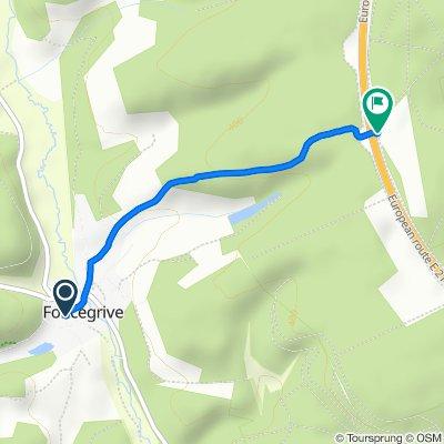 Steady ride in Selongey