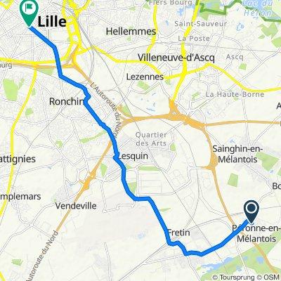 Visite rapide en Lille