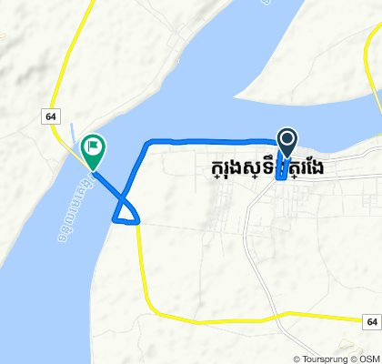 ផ្លូវលេខ ៦១ 104, Krong Stung Treng to Cambodia-China Friendship Mekong Bridge, Krong Stung Treng