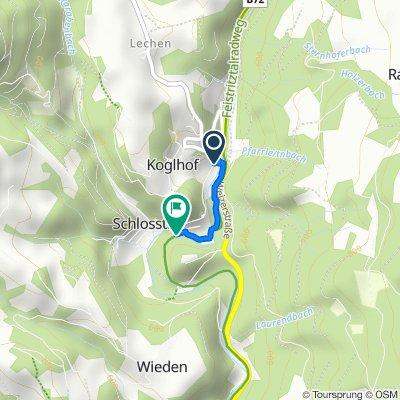 Weizer Straße 49, Birkfeld nach Schlosstal 4–5, Birkfeld