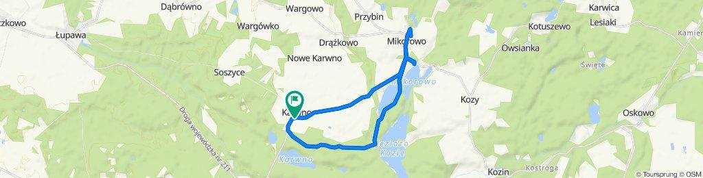 Karwno - Mikorowo - Karwno