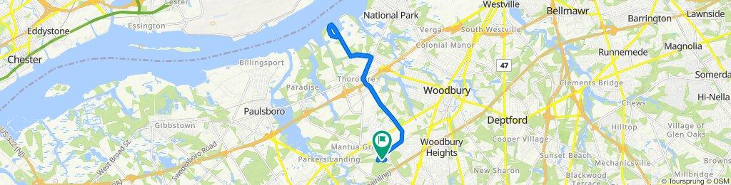 Restful route in West Deptford