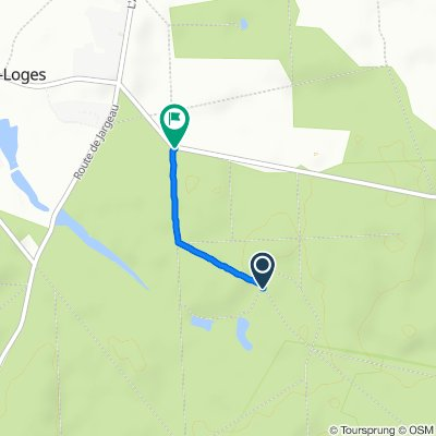 Itinéraire vers Route de Courcy, Courcy-aux-Loges