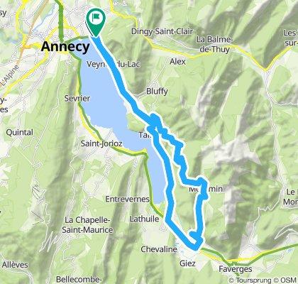 Annecy'10, Tour1: Forclaz-Montmin