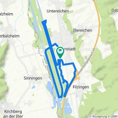Langsame Fahrt in Altenstadt 13.06.2020