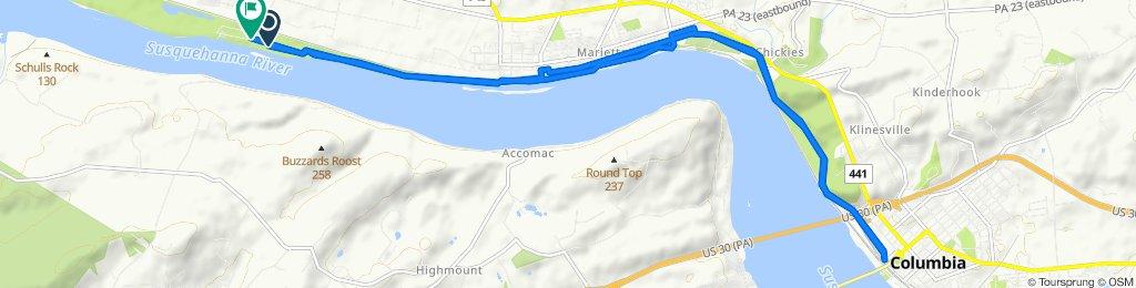 Northwest Lancaster County River Trail, Marietta to Vinegar Ferry Road, Marietta