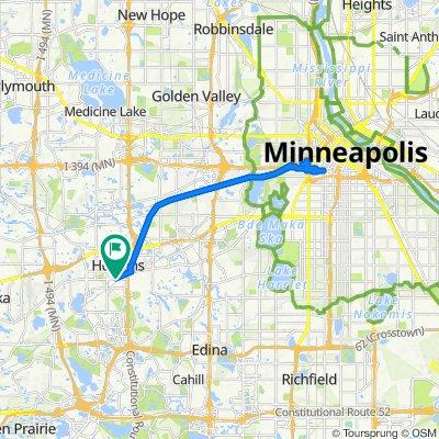 Hopkins Depot to Minneapolis Ride