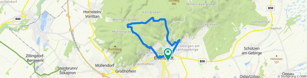 Easy ride in Eisenstadt