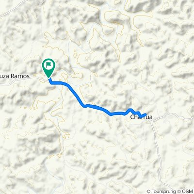 Restful route in Getulio Vargas