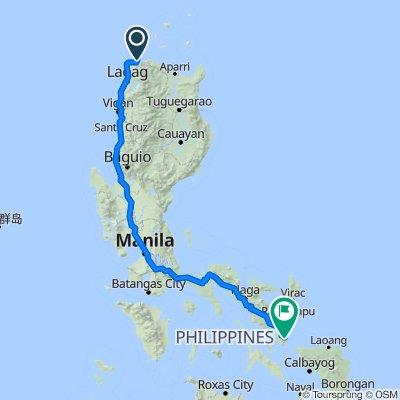 Pan-Philippine Highway, Pagudpud to Unnamed Road, Irosin