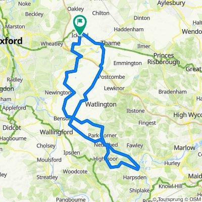 Ickford to Henley loop