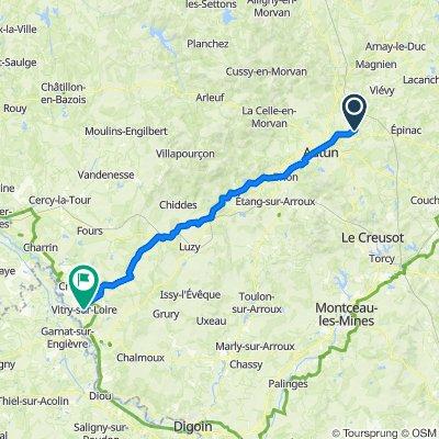 Curgy - Vitry-sur-Loire