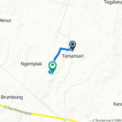 Unnamed Road, Kecamatan Mranggen to Unnamed Road, Kecamatan Mranggen