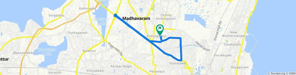 11th Street 43, Chennai to 11th Street 43, Chennai(14/6/2020)