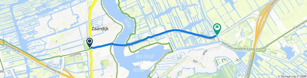 Steady ride in Zaandijk