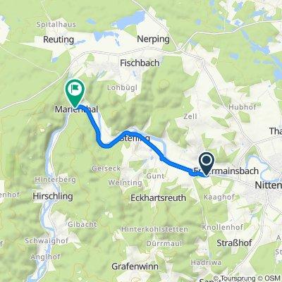 Entspannende Route in Regenstauf