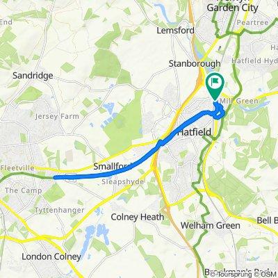 Slow ride in Hatfield