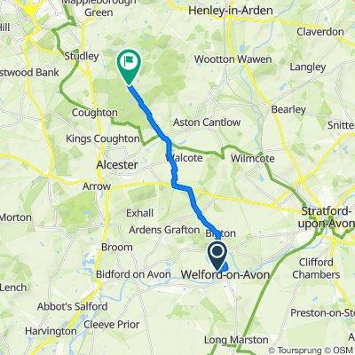 Nine Gables, Boat Lane, Stratford-upon-Avon to Spernal Lane, Alcester