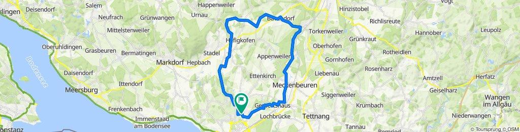 Oberz-Bavend-Obert 36 km