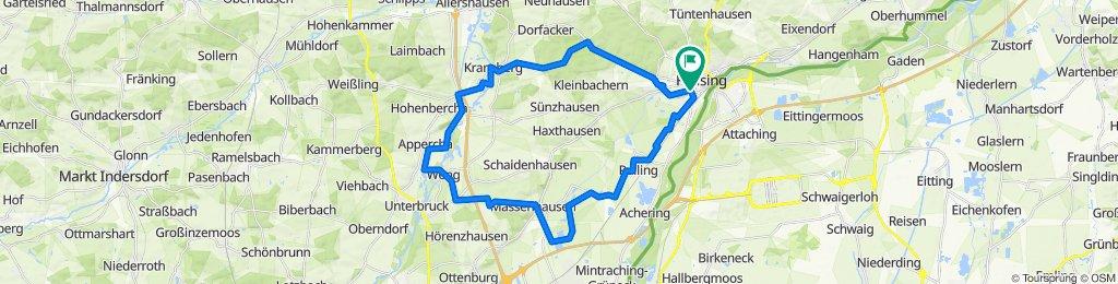 3 Weiher Runde 40 km 210 hm