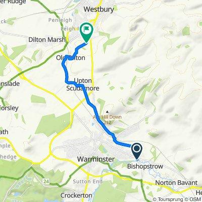 Blistering ride in Warminster