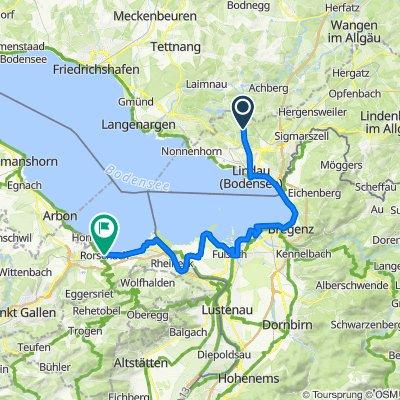 Bodensee-Radweg, Etappe 4