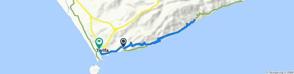 Steady ride in Tarifa