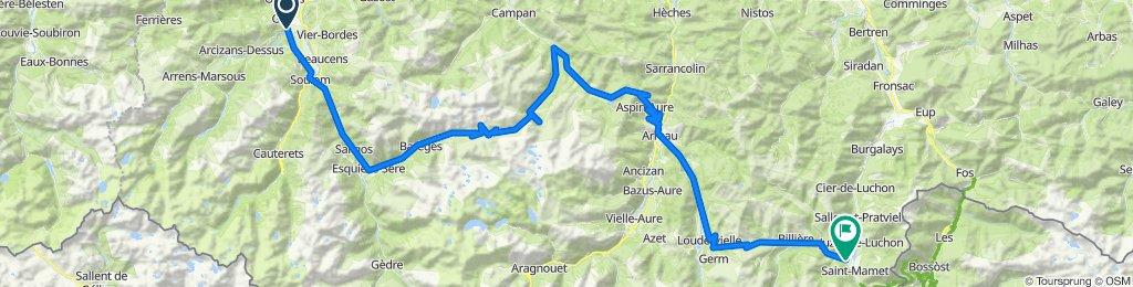 Argeles-Gazost - Bagneres de Luchon