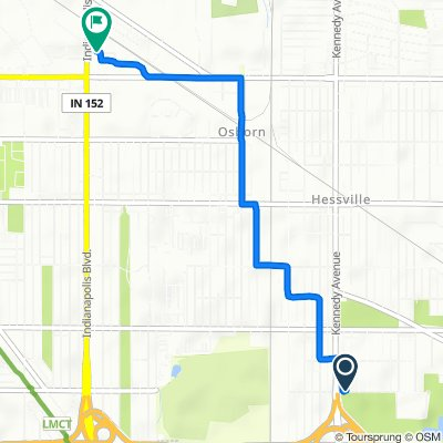 Moderate route in Hammond