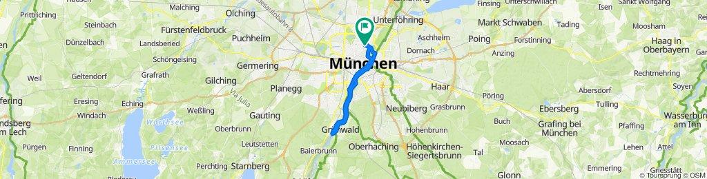 Hohenzollernstraße 54, München nach Hohenzollernstraße 52, München