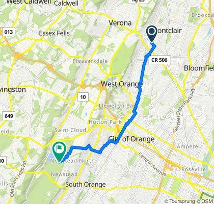 12 Vincent Pl, Montclair to 280 Brookside Dr, South Orange