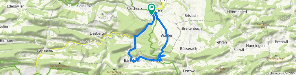 14.06.2020 Bärschwil - Grindel - Horlangen