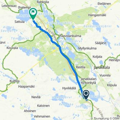 Helsingintie 1426, Janakkala to Parolannummentie 298, Hattula