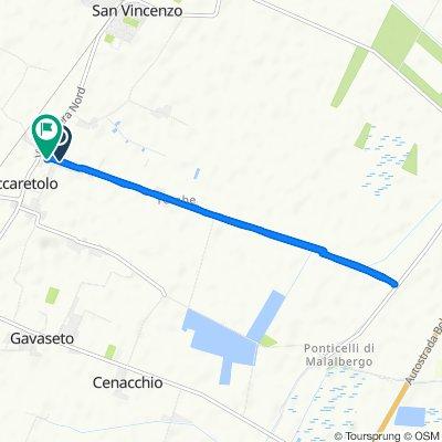 Easy ride in Maccaretolo