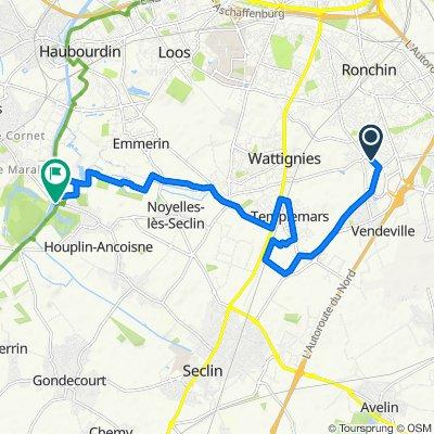 Moderate route in Houplin-Ancoisne