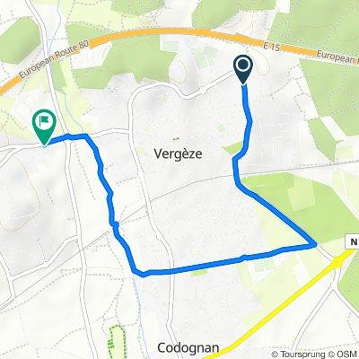 Steady ride in Vergèze
