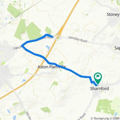 22 Park View, Hinckley to 22 Park View, Hinckley