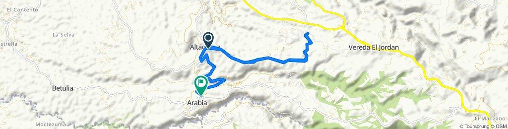 De Vía Altagracia a Carrera 5 #3-44, Arabia