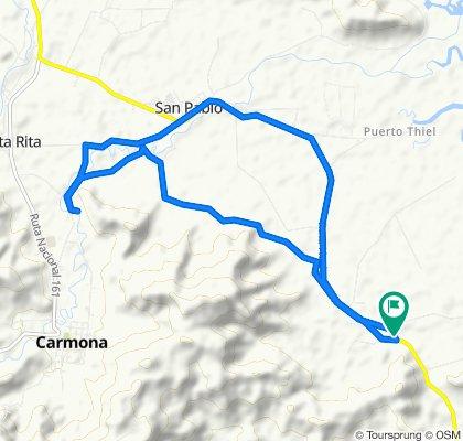 Pavones a Carmona