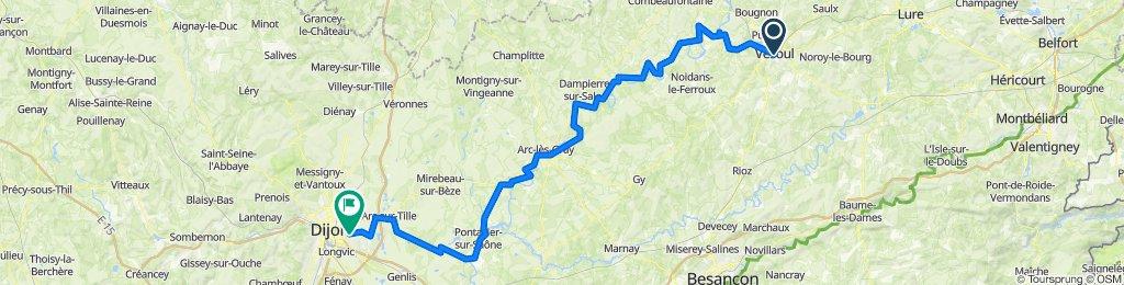 Vesoul - Dijon