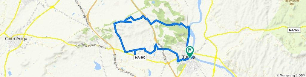 Easy ride in Tudela