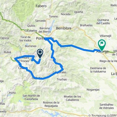 Llamas de Cabrera - Astorga