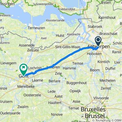 Antwerpen - Gent Tag 4