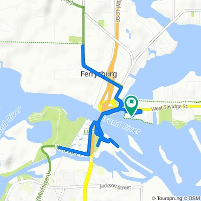 West Savidge Street 940, Spring Lake to West Savidge Street 940, Spring Lake