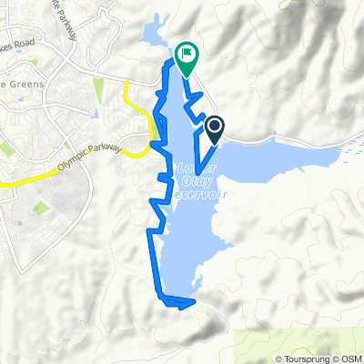 Relaxed route in Jamul