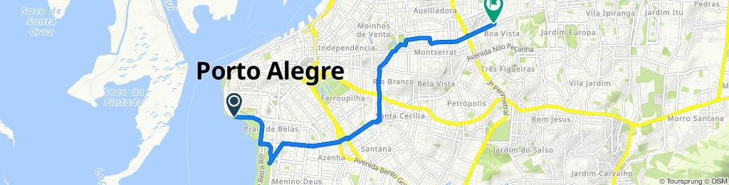 Steady ride in Porto Alegre