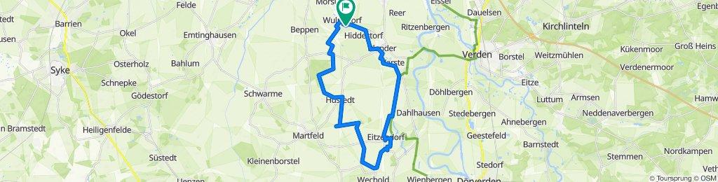 Moorweg 1A, Thedinghausen nach Moorweg 1A, Thedinghausen