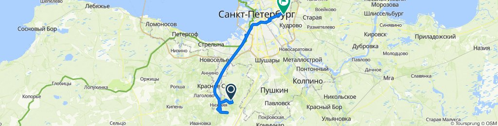 Easy ride in Санкт-Петербург