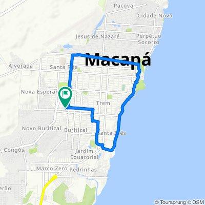 Caminhada lenta Macapá